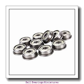 2.5mm x 8mm x 4mm  ZEN 602x-2z-zen Ball Bearings Miniatures
