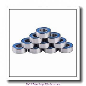 2.5mm x 7mm x 3.5mm  ZEN sf692x-2z-zen Ball Bearings Miniatures