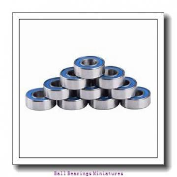 2mm x 6mm x 3mm  ZEN s692-2z-zen Ball Bearings Miniatures