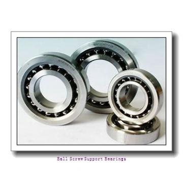 15mm x 47mm x 15mm  Nachi 15tab04u/gmp4-nachi Ball Screw Support Bearings