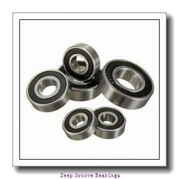 90mm x 140mm x 16mm  FAG 16018-fag Deep Groove Bearings