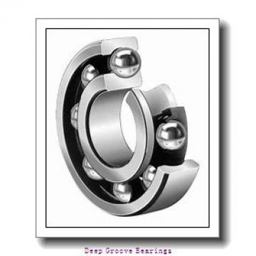 80mm x 125mm x 14mm  FAG 16016-fag Deep Groove Bearings
