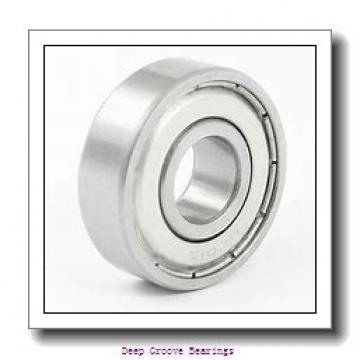 60mm x 95mm x 11mm  FAG 16012-fag Deep Groove Bearings