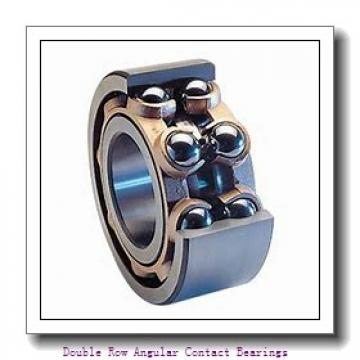 20mm x 47mm x 20.6mm  SKF 3204a-2rs1/mt33-skf Double Row Angular Contact Bearings